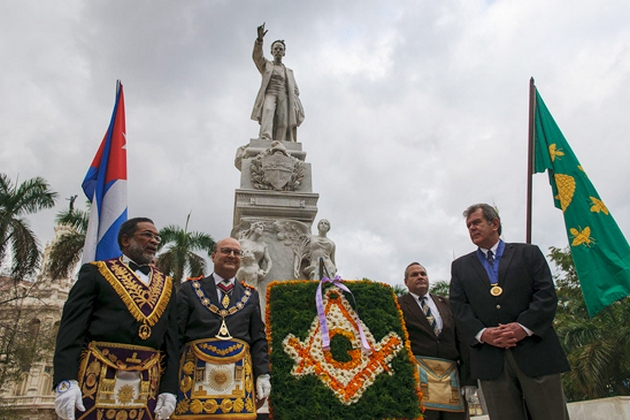 Inter American Masonic Confederation Honors Jose Marti. Photo taken from http://www.cmhw.cu