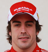 Fernando Alonso portrait