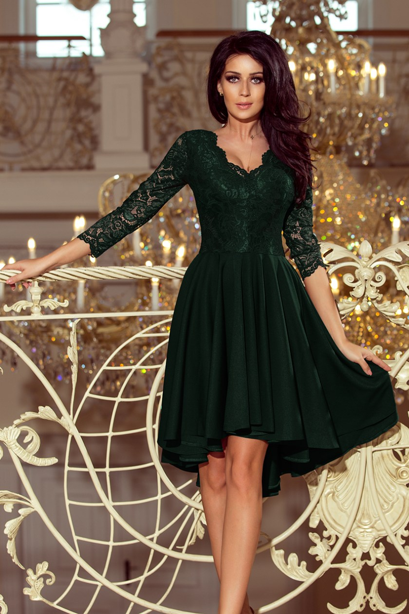 cocktail dress green -