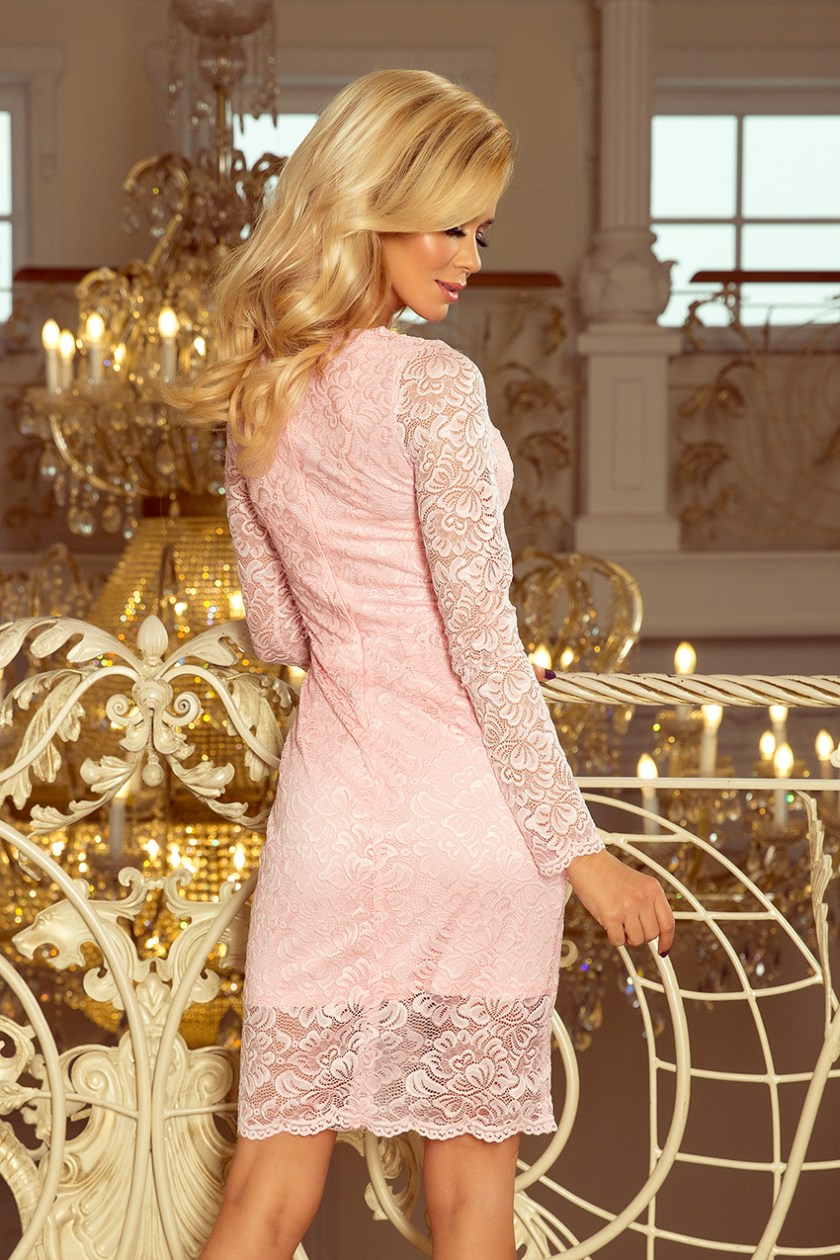lace pink back -
