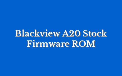 Blackview A20