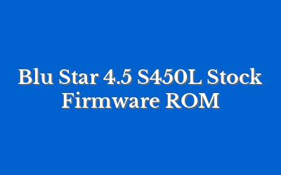 Blu Star 4.5 S450L