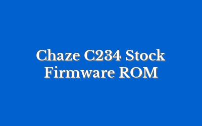 Chaze C234