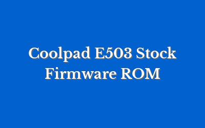 Coolpad E503
