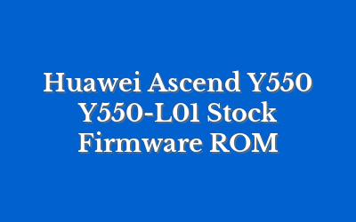 Huawei Ascend Y550 Y550-L01