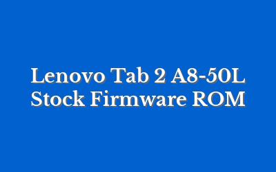 Lenovo Tab 2 A8-50L