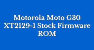 Motorola Moto G30 XT2129-1