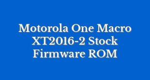 Motorola One Macro XT2016-2