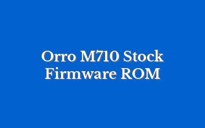 Orro M710