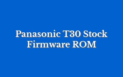 Panasonic T30