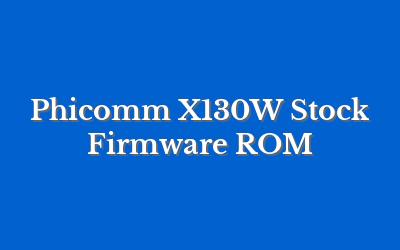 Phicomm X130W