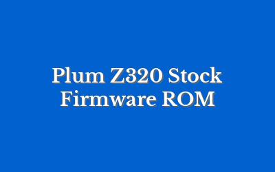 Plum Z320