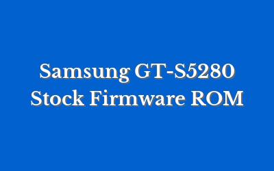 Samsung GT-S5280