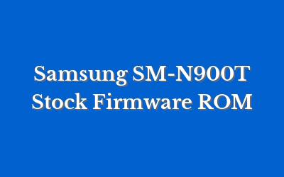 Samsung SM-N900T