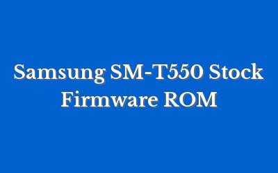 Samsung SM-T550