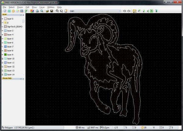 How to convert DXF to GDSII with LayoutEditor 2014