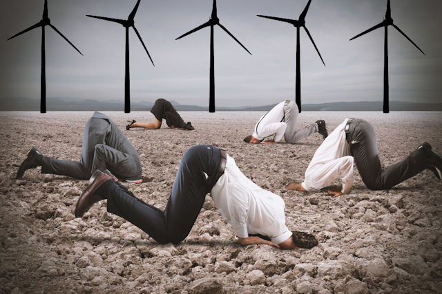 Science deniers in the wind industry
