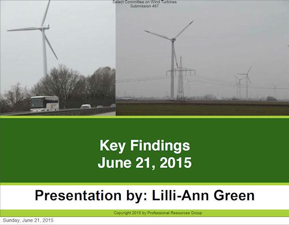 Presentation by Lilli-Ann Green