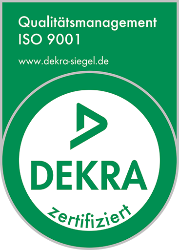 Certification according to ISO 9001