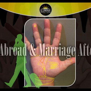 Marriage After 45, New Line of Work & Life Abroad seen in Palmistry