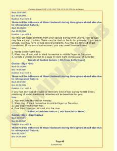 Lal-Kitab Predictions & Remedies Report - Page 45