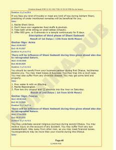 Lal-Kitab Predictions & Remedies Report - Page 46