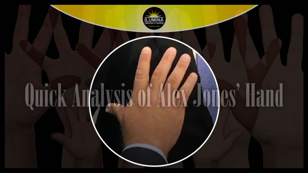 Quick Analysis of Alex Jones' Hand