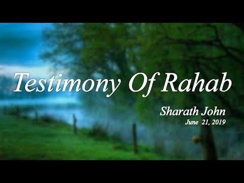 """Vespers: """"Testimony Of Rahab"""""""