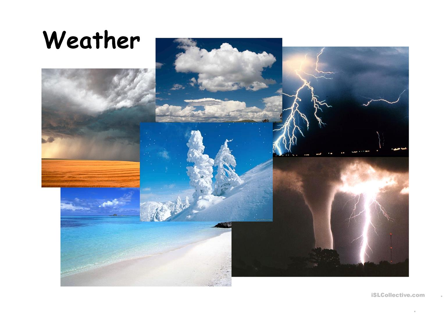 Weather Ppt Worksheet
