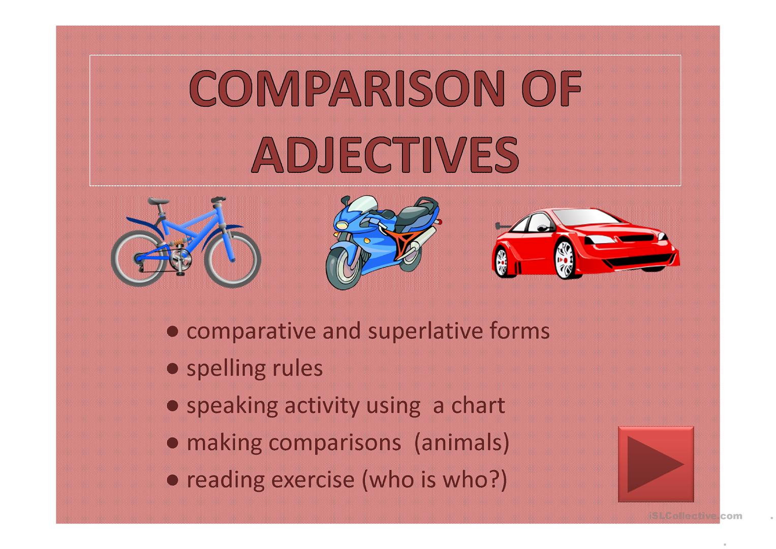 Comparative And Superlative Ppt For Kids