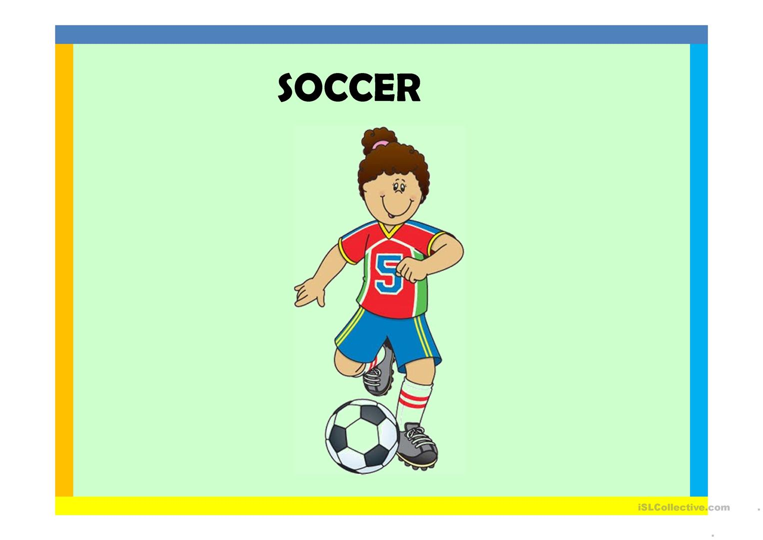 Sports Worksheet Free