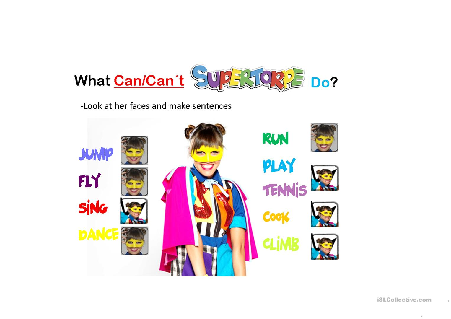 What Can Can T Supertorpe Do Worksheet