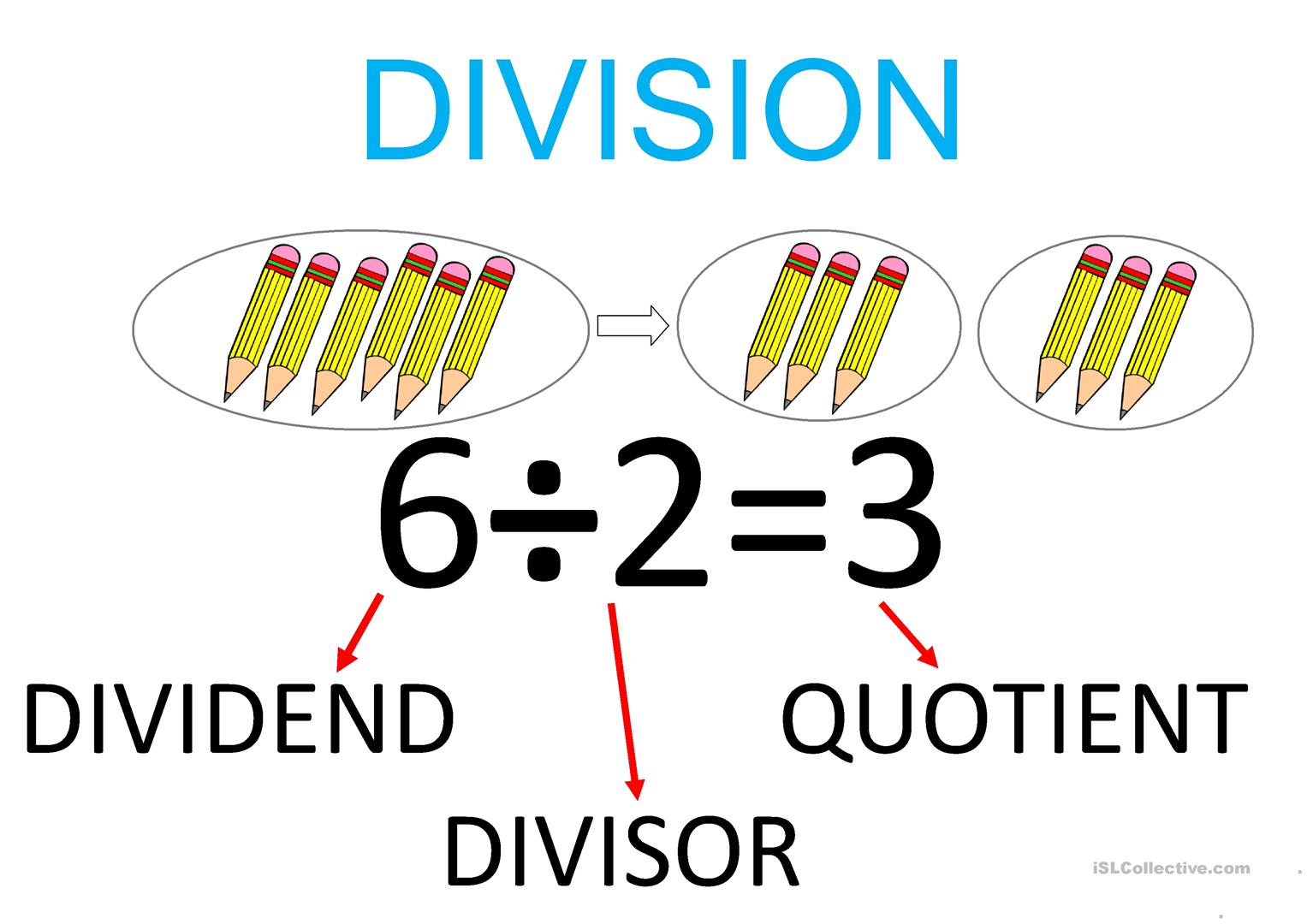 Multiplication And Division Classroom Poster Worksheet