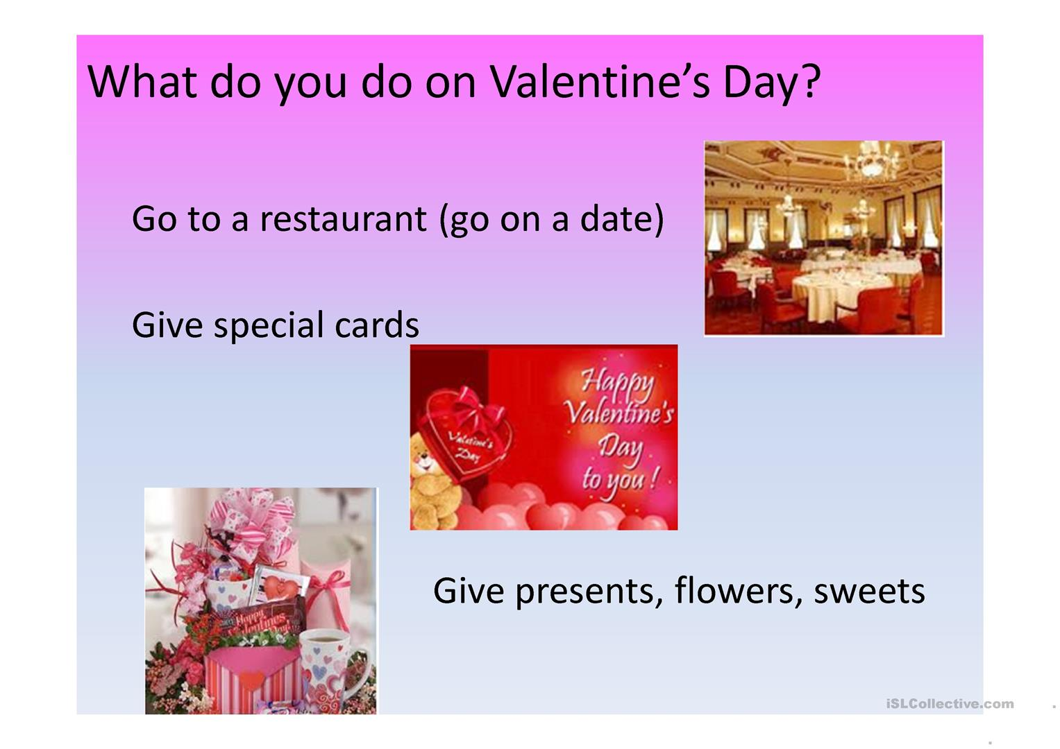 Valentine S Day Worksheet