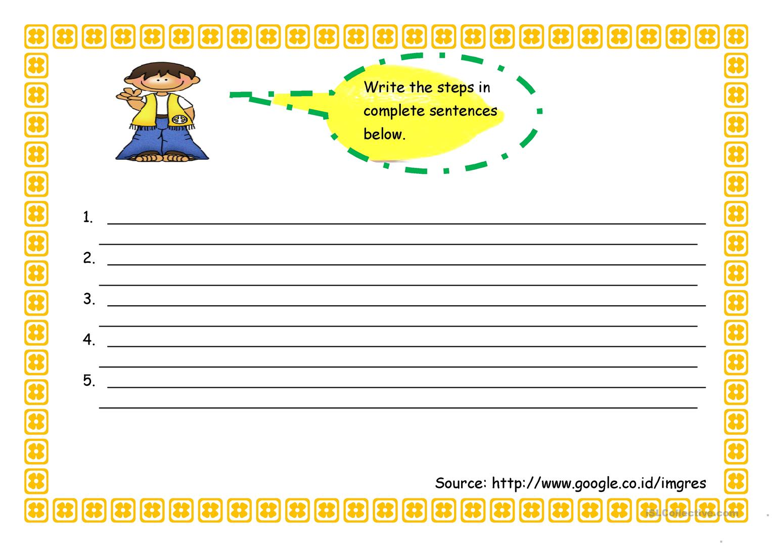Prepare Worksheet