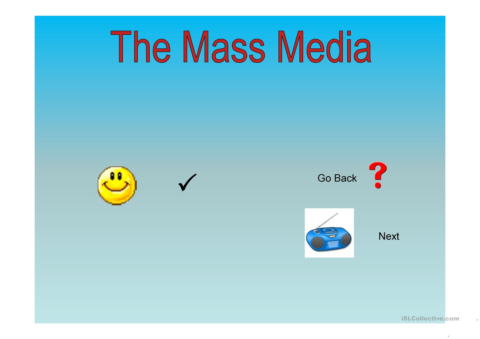 The Mas Media Worksheet