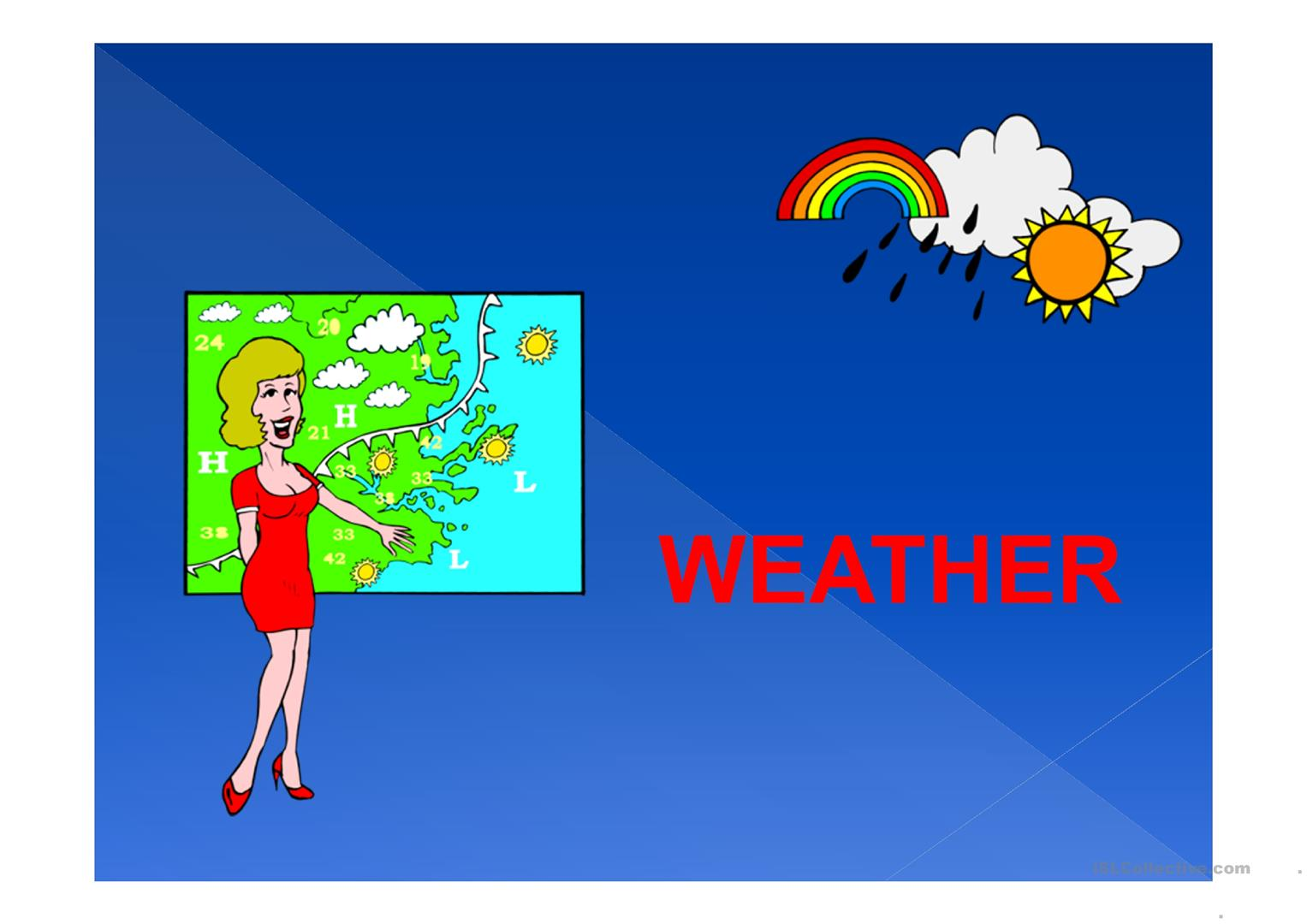 Weather Conditions Worksheet