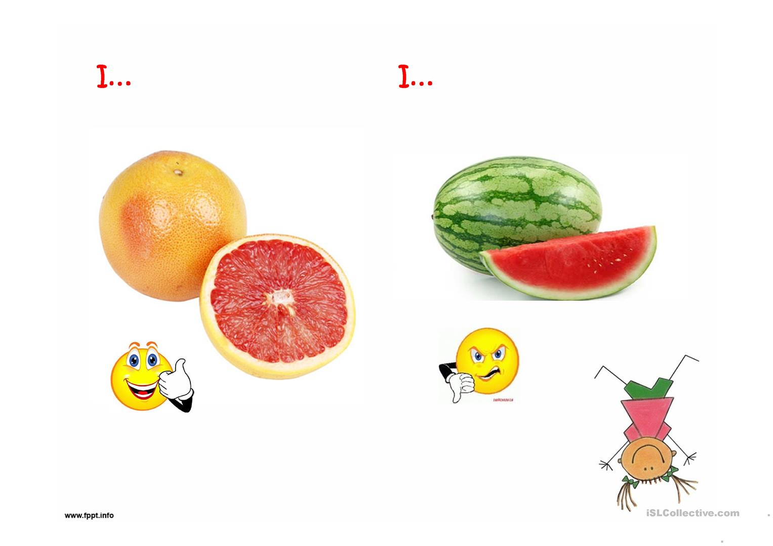 Esl Worksheet Fruit