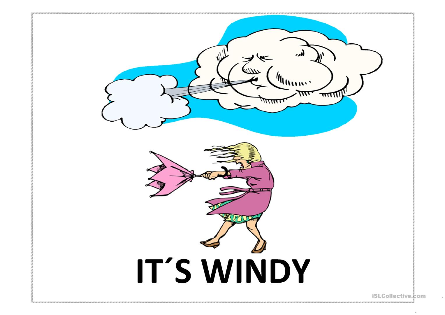 Weather Kids Worksheet