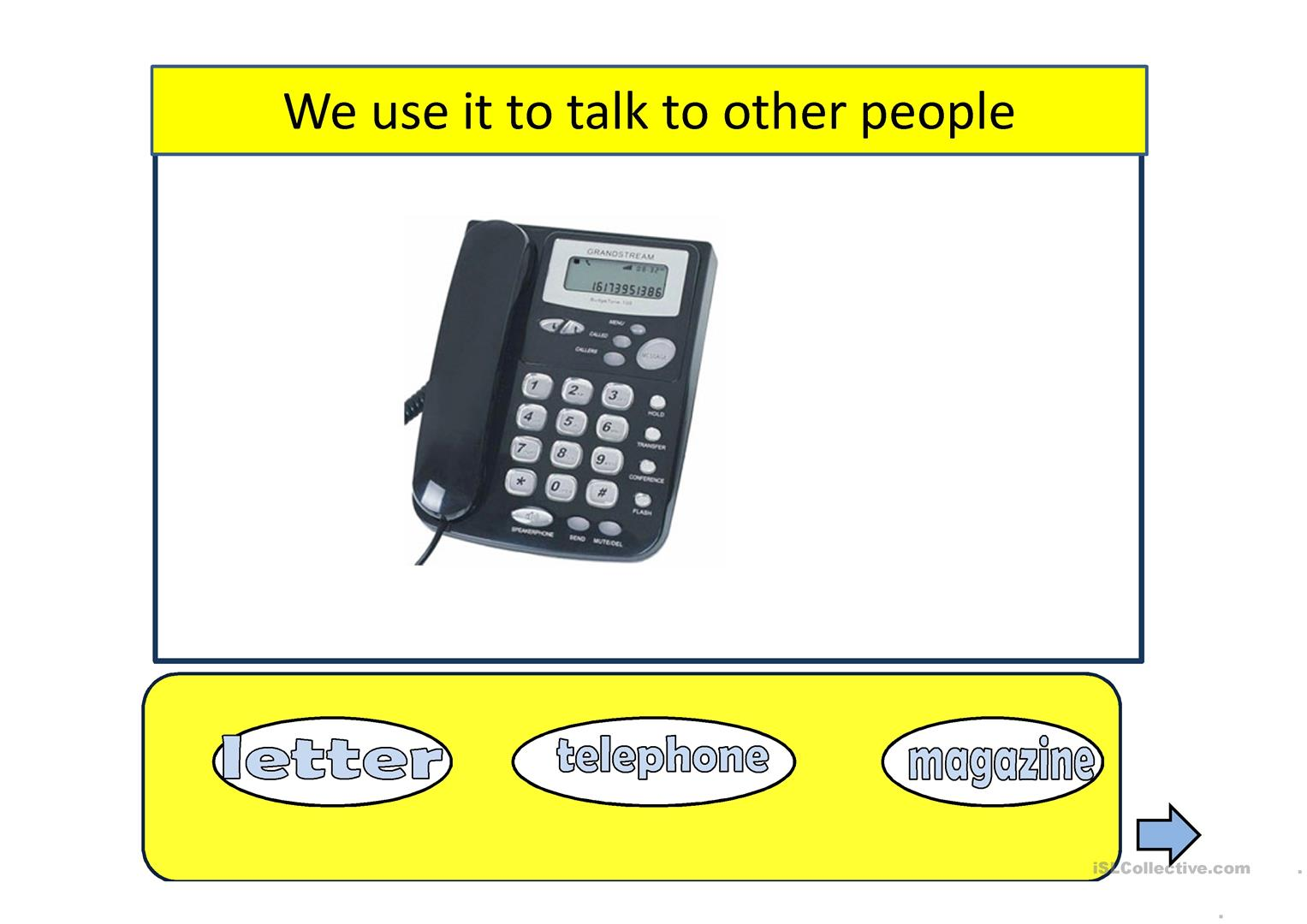 Means Of Communication Worksheet