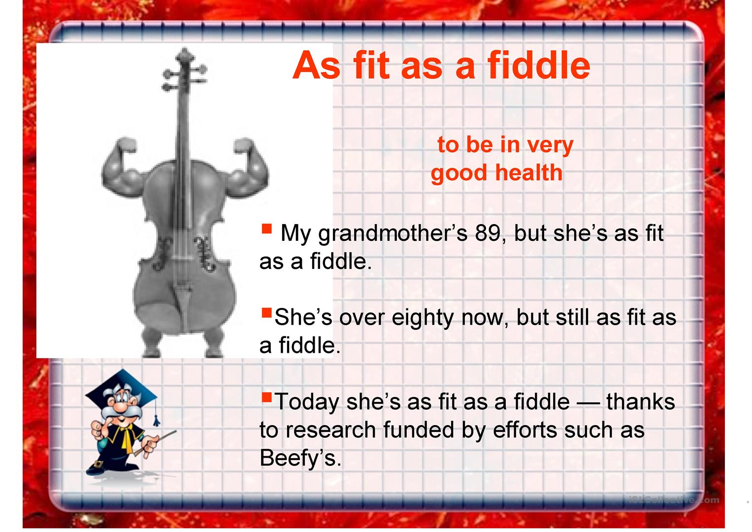 Idiom Flashcards