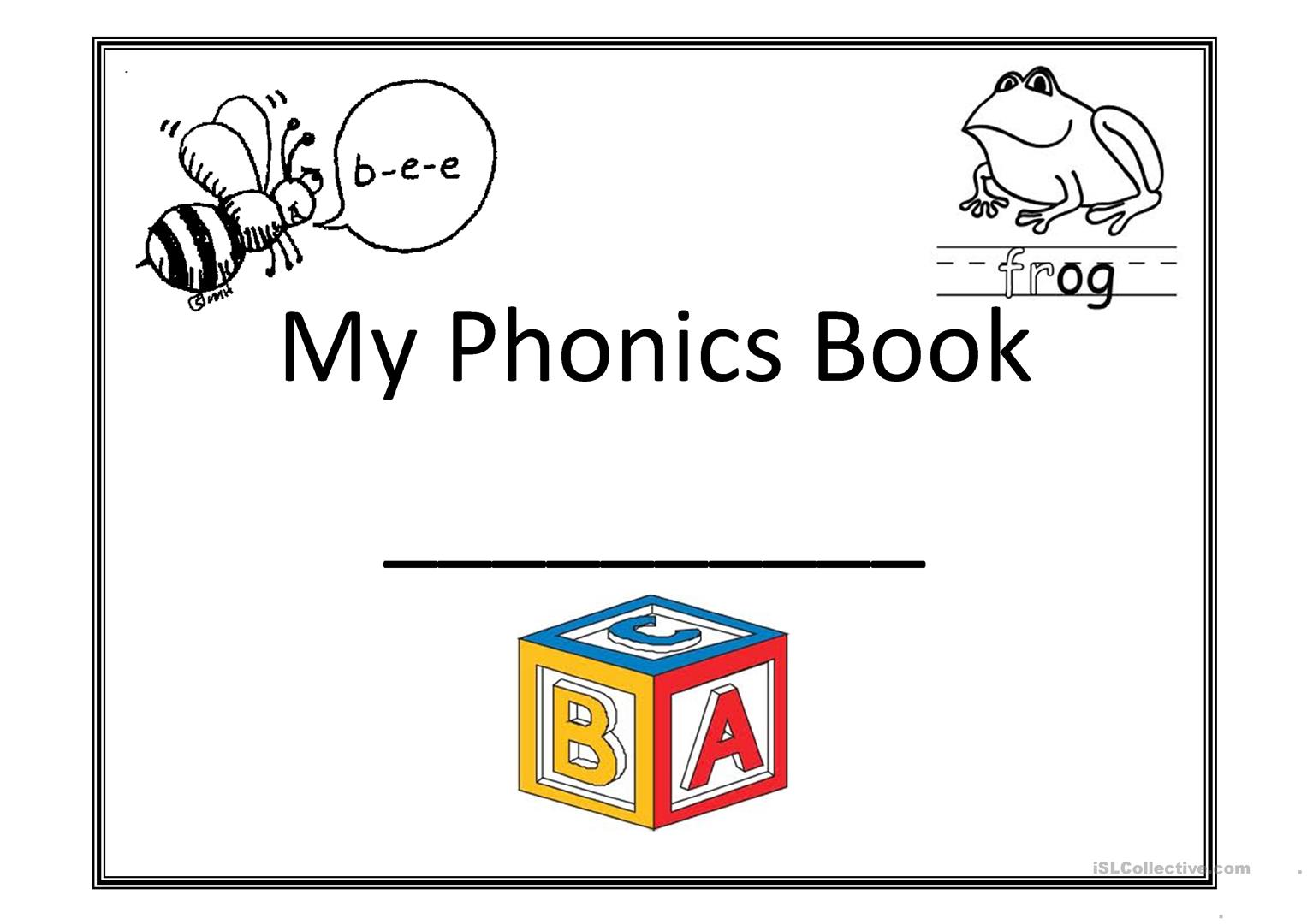 My Phonics Book