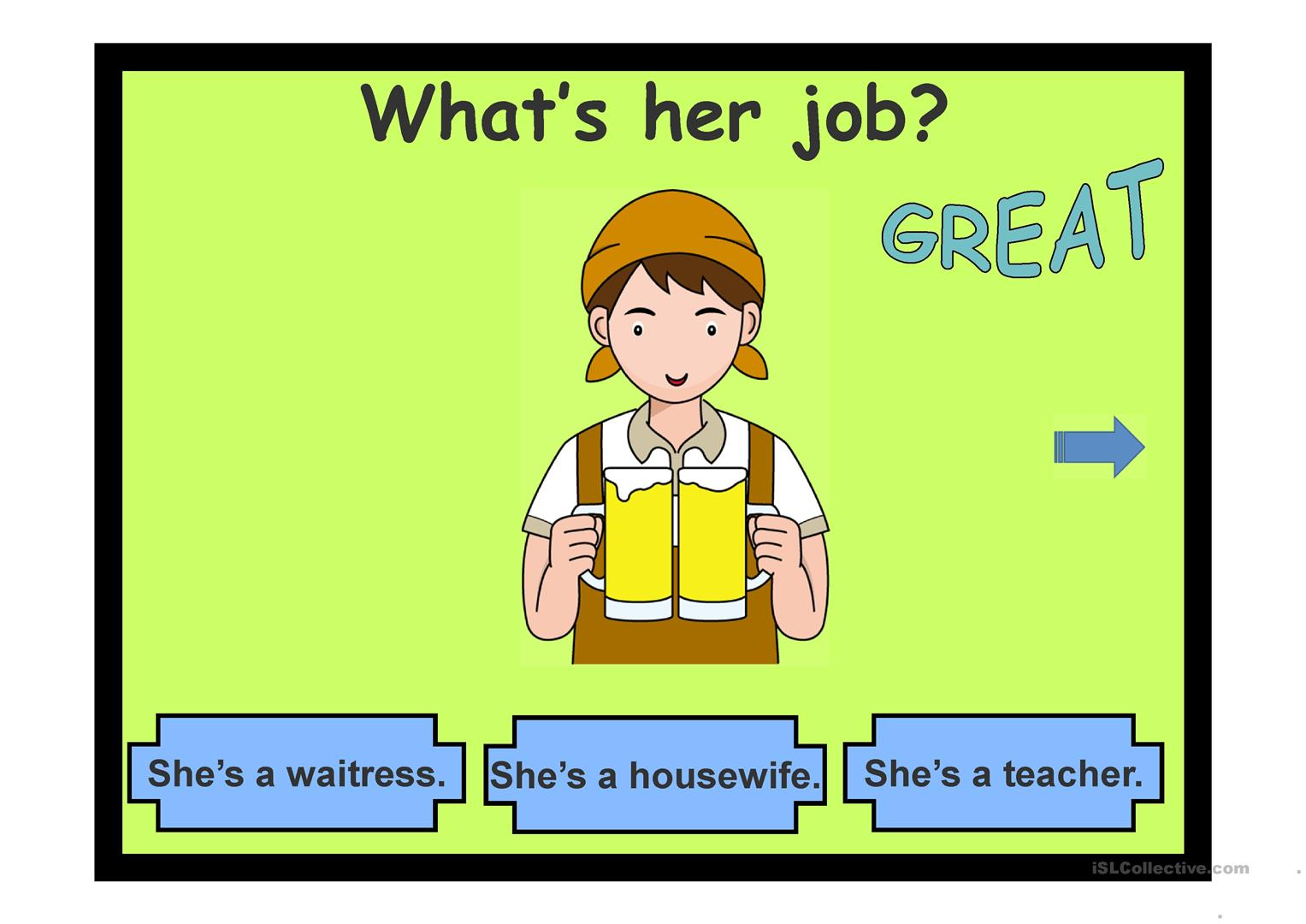 Jobs Amp Occupations Worksheet