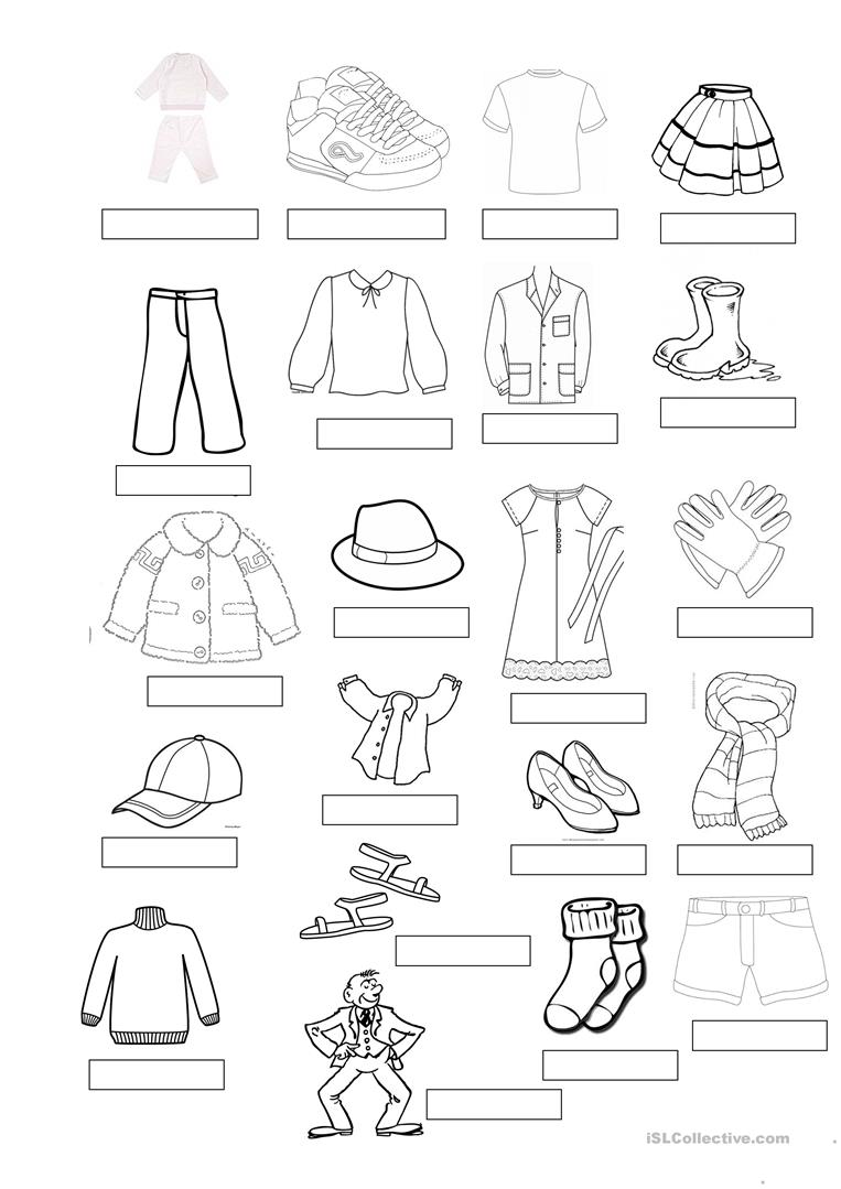 Image Result For Worksheet Winter And Summer Clothes