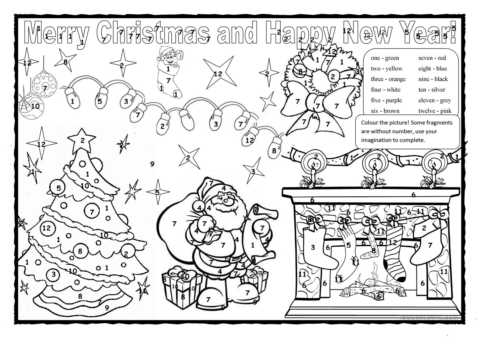 Fun Xmas Worksheet