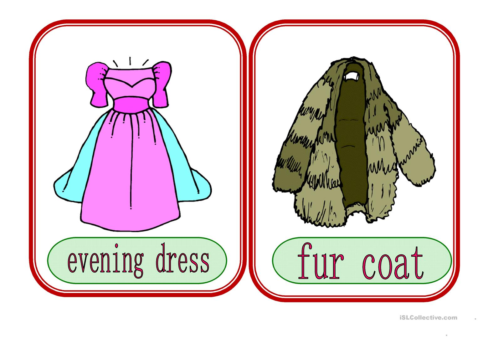 Clothes 3 Worksheet