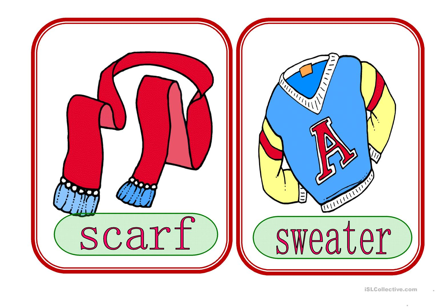 Clothes 4 Worksheet