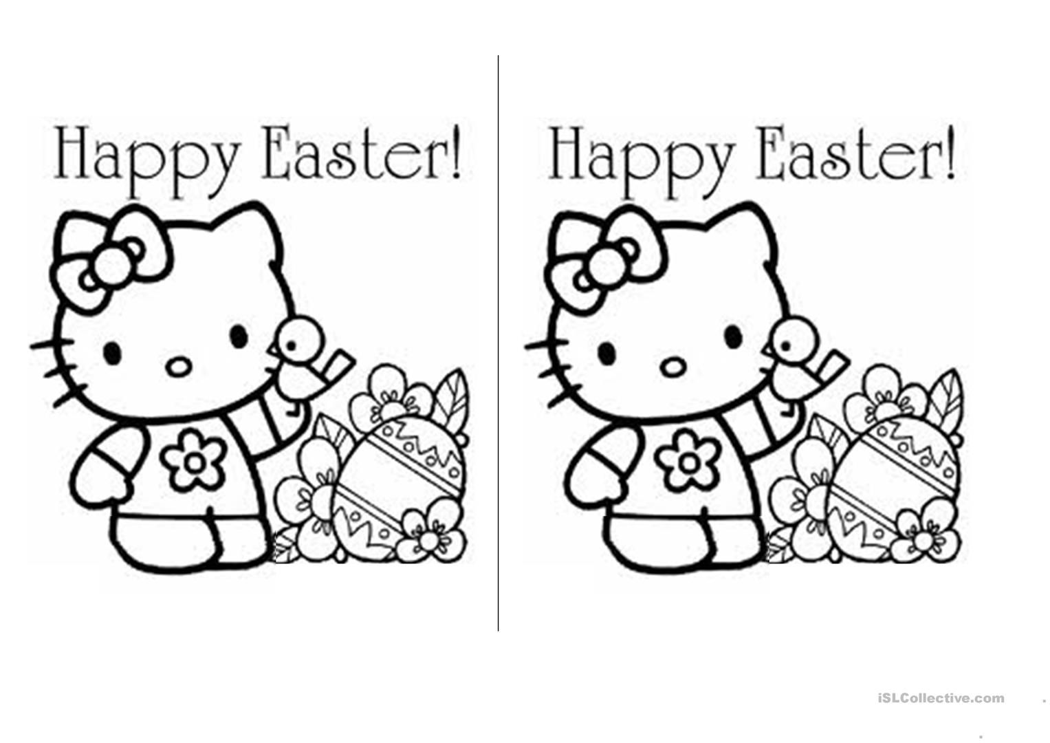 Easter Worksheets For Elementary Students