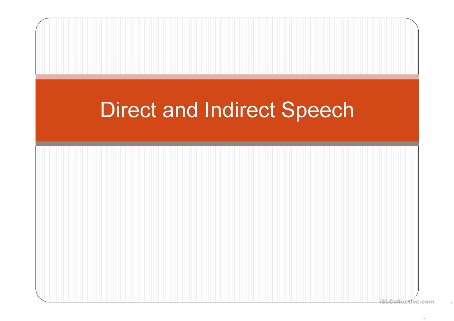Learning About Direct Speech With Harry Potter Worksheet