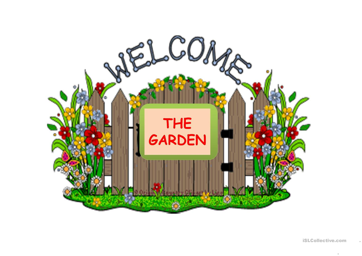 The Garden Worksheet